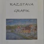 Otvoritev razstave grafik Branka Pungartnika