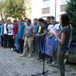 Sprejem novincev - Dijaški dom Drava Maribor 35