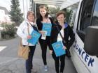 Obisk VDC Sonček in odvoz zamaškov za Nika