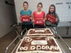 V DD Drava Maribor spekli torto za Amnesty