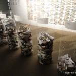 Instalacija papirnatih ladjic - Dijaški dom Drava Maribor 07