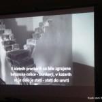 Instalacija papirnatih ladjic - Dijaški dom Drava Maribor 15