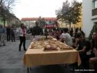Poskusna gasilska evakuacija in kostanjev piknik