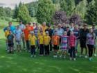 Golf turnir v Olimju