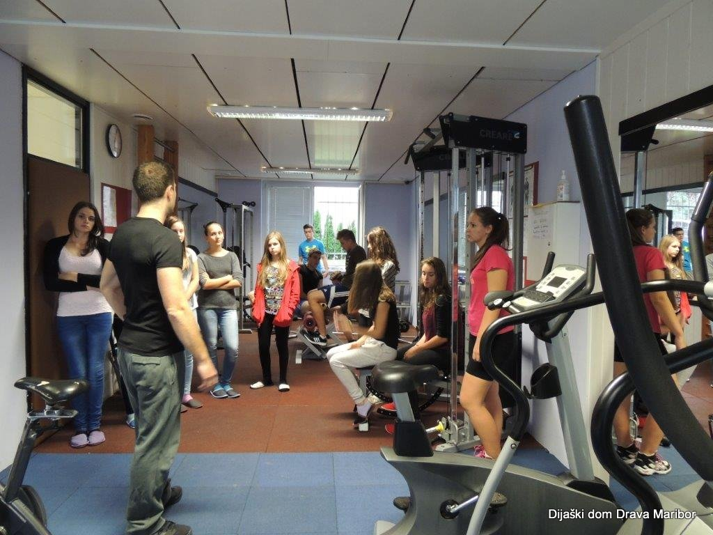 Predstavitev vadbe v fitnesu
