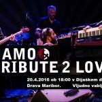 Koncert skupine Hamo&Tribute 2 Love v DD Drava